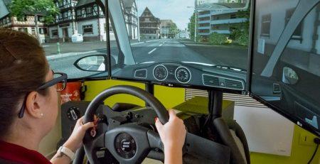 compartilhar simulador de direção